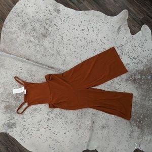 Sienna Sky Mustard Overalls/Jumpsuit